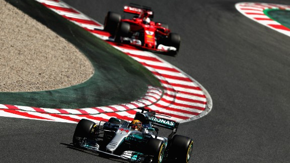 After missing out on a podium in Russia, Hamilton roared back to the top step at the Spanish Grand Prix. The Briton was overtaken by Vettel at the start but Hamilton fought back, dramatically overtaking his title rival later in the race to take the checkered flag. Red Bull's Ricciardo took third -- his first podium of the season after Bottas suffered an engine failure.  Drivers' title race after round 5 Vettel 104 points Hamilton 98 points Bottas 63 points