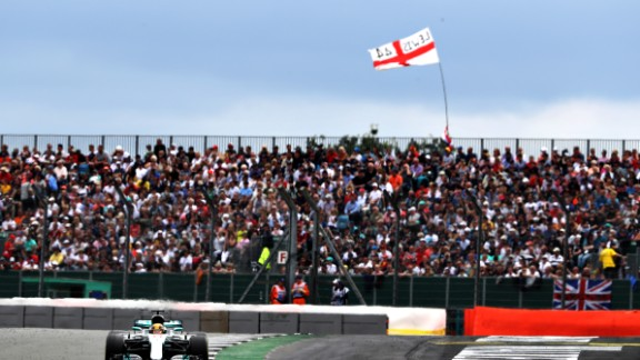 Hamilton was simply unstoppable at the British Grand Prix, qualifying more than half-a-second quicker than the Ferraris before delighting home fans with a commanding win. Both Vettel and teammate Raikkonen suffered punctures late in the race. Raikkonen recovered to finish third, but Vettel could only manage seventh, slashing his championship lead over Hamilton to a single point.   Drivers' title race after round 10 Vettel 177 points Hamilton 176 points Bottas 154 points