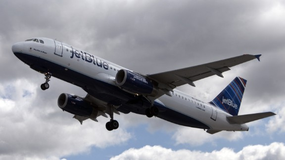 The air traffic control tower had not been able to make radio contact with the JetBlue flight when they received a false alarm on Tuesday.