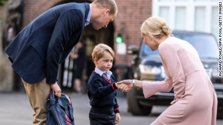 Prince George started school in September last year.