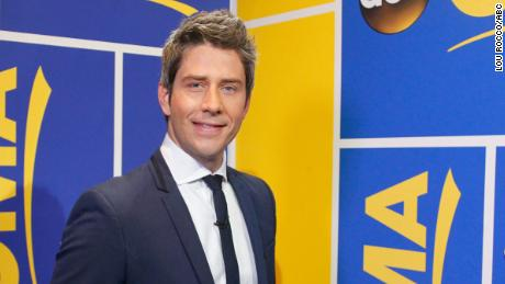 "Arie Luyendyk Jr. is announced as the new star of ABC's ""The Bachelor"" on ""Good Morning America,"" on Thursday, September 7 ABC Television Network."