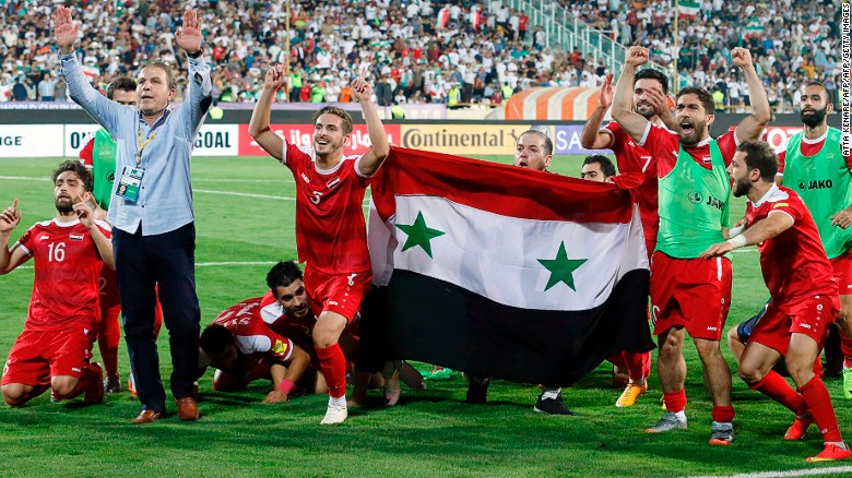 Syria's football team still dreaming of 2018 World Cup