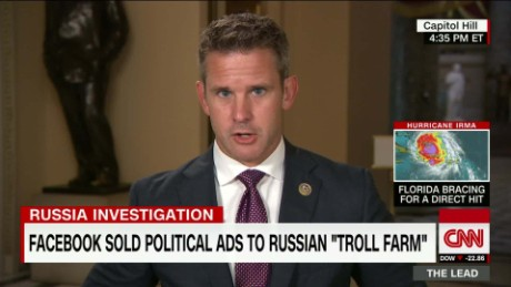 Lead Kinzinger russia investigation donald trump jr facebook live _00005128