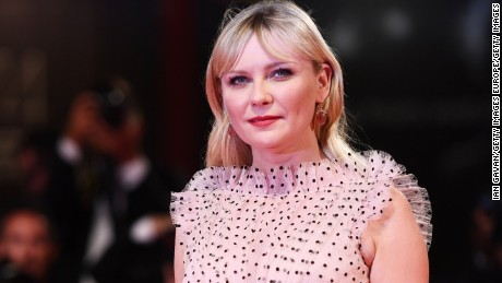 VENICE, ITALY - SEPTEMBER 04:  Kirsten Dunst from 'Woodshock' movie walks the red carpet ahead of the 'Three Billboards Outside Ebbing, Missouri' screening during the 74th Venice Film Festival at Sala Grande on September 4, 2017 in Venice, Italy.  (Photo by Ian Gavan/Getty Images)