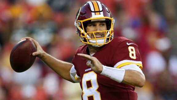 """You like that?"" Kirk Cousins, who led Washington to the playoffs in 2015 behind that rallying cry, signed his second consecutive one-year deal in the off-season. Unable to come to a long-term deal with the Redskins, the 29-year-old settled for one year and nearly $24 million."