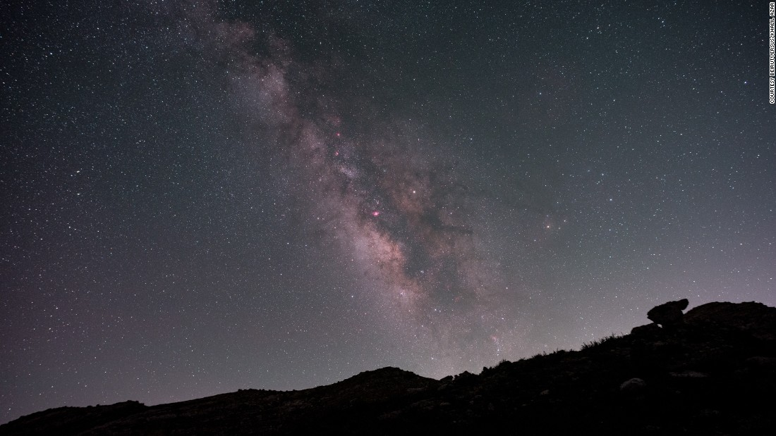 Azar and Hajjar say Lebanon has a unique mix of qualities that make it an ideal spot for astrophotography.