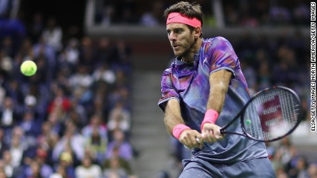 Juan Martin del Potro's lone major title was in the US Open in 2009.