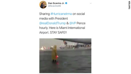 White House social media director tweets inaccurate hurricane video