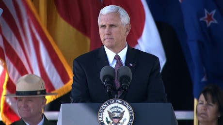 VP Mike Pence 9/11 remarks PA