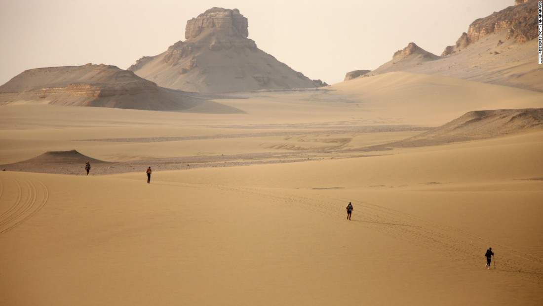 "Until 2014, Egypt hosted one of the four legs of the <a href=""https://www.4deserts.com/"" target=""_blank"">4 Deserts Race</a> -- a daunting task, even for elite ultra runners. Before then, competitors would race across 155 miles in seven days, camping out under the stars between six grueling stages. Political turmoil in Egypt saw the race relocated to Namibia, where it has joined the Atacama Crossing in Chile, the Gobi March in China and the so-called ""Last Desert"" of Antarctica. A winner is crowned after 620 miles in total."