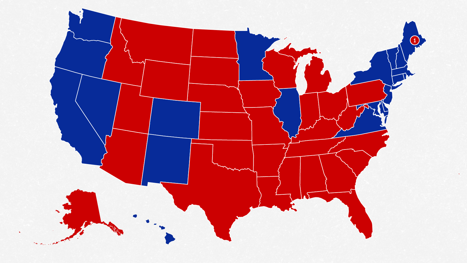 Us Map Election Polls Here's why Donald Trump needs to expand the 2020 map   CNN Politics
