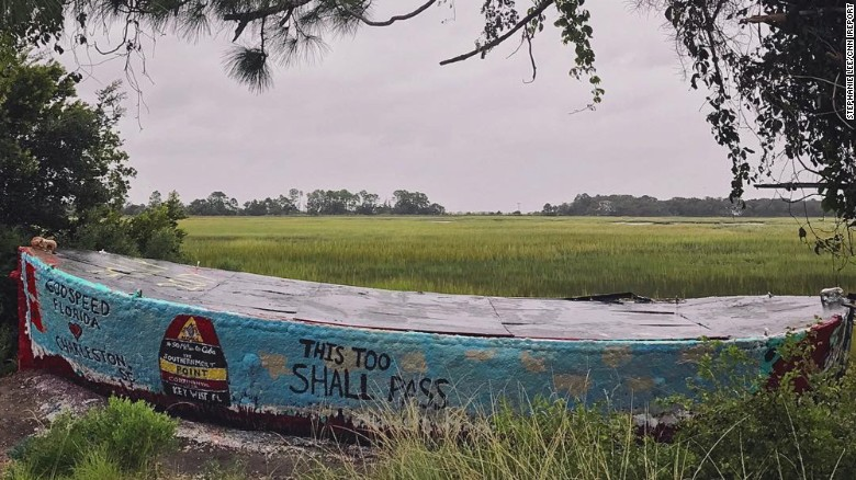 Stephanie Lee Took This Photo Of The Famous Folly Boat That Was A Landmark On