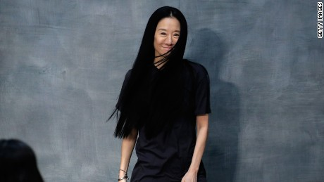 NEW YORK, NY - FEBRUARY 17:  Vera Wang walks the runway at the Vera Wang fashion show during Mercedes-Benz Fashion Week Fall 2015 on February 17, 2015 in New York City.  (Photo by JP Yim/Getty Images)