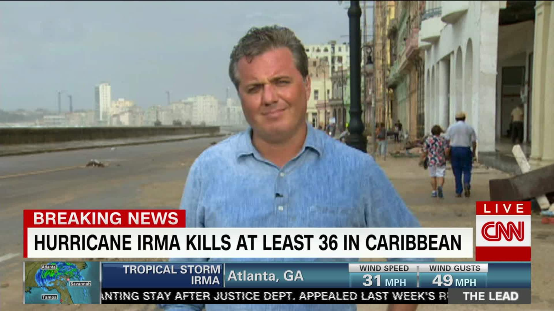Irma wreaks havoc in Caribbean