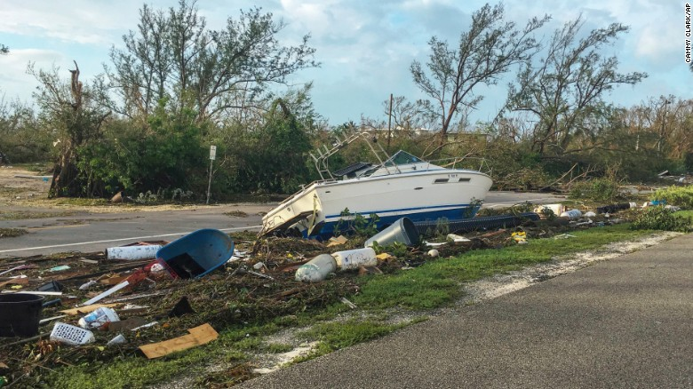 See Irma's impact on the Florida Keys