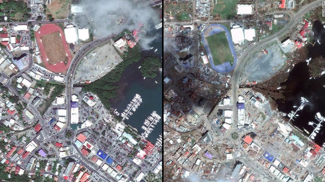 Tortola >> Before and after Hurricane Irma: Photos show devastation in Caribbean - CNN