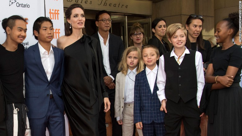 Image result for jolie pitt family