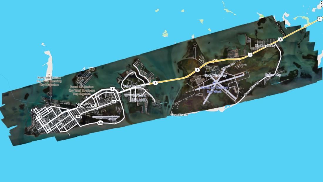 Noaa Satellite Imagery Helping Key West Evacuees Check Property Cnn