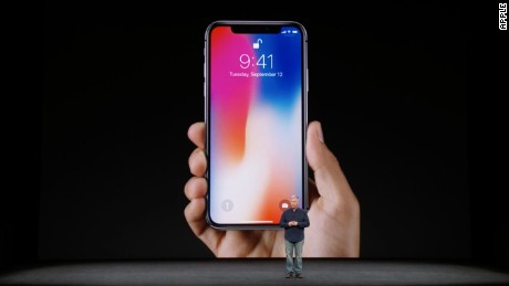 Apple introduces iPhone X