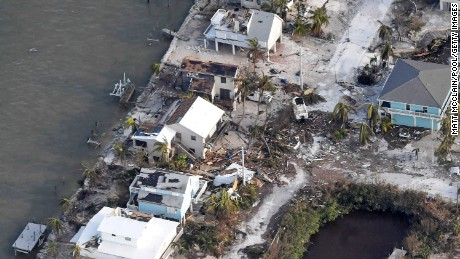 25% of Florida Keys houses destroyed as 15 million Floridians have no power