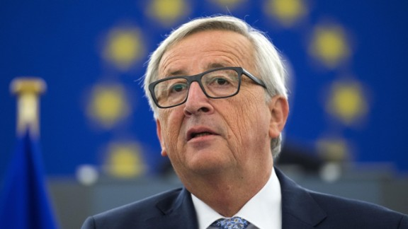 Juncker, speaking in Strasbourg on Wednesday, laid out an optimistic vision for the EU after Brexit.
