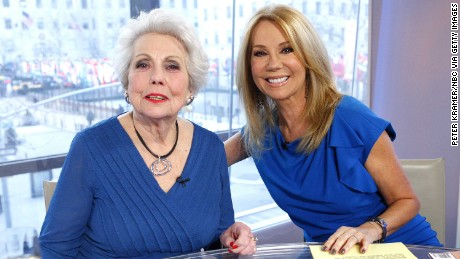 "Joan Epstein and daughter Kathie Lee Gifford appear on NBC News' ""Today"" show."