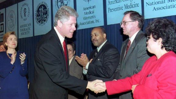 President Bill Clinton once did something that infuriated so many blacks that some called it racist.