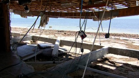 Big Pine Key house destroyed