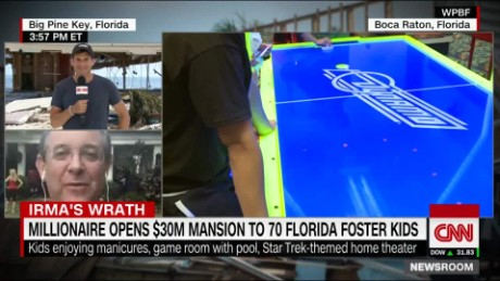 millionaire marc bell foster kids mansion florida cnn newsroom _00004705