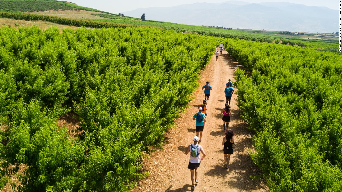 "134 miles in the Yizrael Valley in northern Israel is a  lush alternative to many of the Middle East's ultra races. <a href=""http://www.mountain2valley.org/m2v/portal"" target=""_blank"">Organizers claim</a> the race typically takes 20 hours, with either 4, 6 or 8 teammates splitting 24 stages between them."