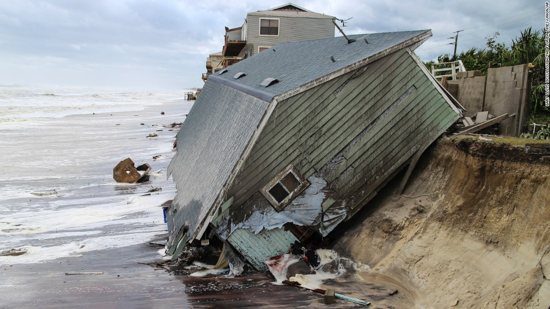 "In the aftermath of Hurricane Irma, a house in Ponte Vedra Beach, Florida, slides into the Atlantic Ocean on Monday, September 11. Irma <a href=""http://www.cnn.com/interactive/2017/09/world/hurricane-irma-caribbean-photos/index.html"" target=""_blank"">laid waste to several Caribbean islands</a> and caused historic destruction <a href=""http://www.cnn.com/interactive/2017/09/us/hurricane-irma-florida-photos/index.html"" target=""_blank"">across Florida.</a>"