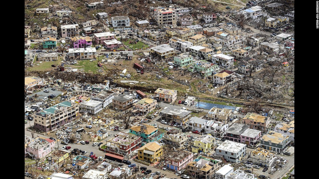 "An aerial photo shows hurricane damage in Road Town, the capital of the British Virgin Islands, on Wednesday, September 13. <a href=""http://www.cnn.com/interactive/2017/09/world/hurricane-irma-caribbean-photos/index.html"" target=""_blank"">See more photos of Hurricane Irma's catastrophic damage</a>"