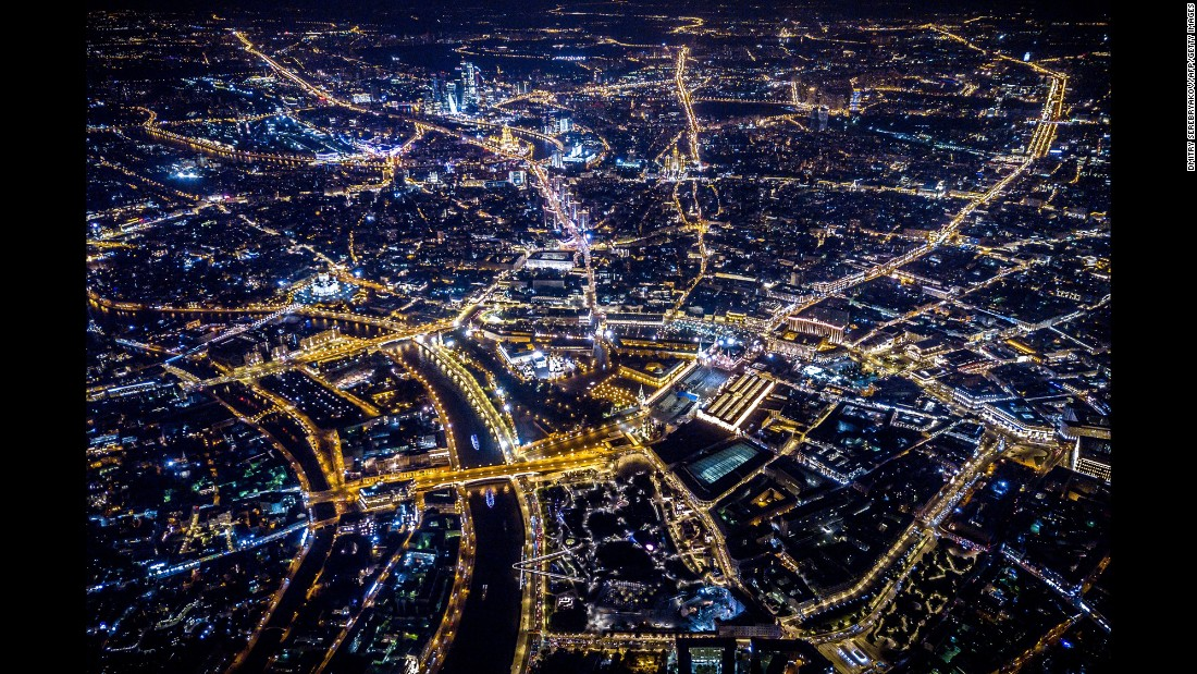 "An aerial photo shows Moscow at night on Monday, September 11. <a href=""http://www.cnn.com/2017/09/07/world/gallery/week-in-photos-0908/index.html"" target=""_blank"">See last week in 27 photos</a>"