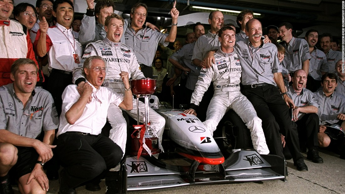 McLaren's last success to date as a team came in 1998, as Miki Hakkinen -- who clinched his first drivers' title -- and David Coulthard propelled the British team to an eighth F1 constructors' title.