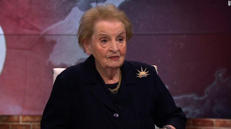 Albright calls for diplomacy towards N  Korea