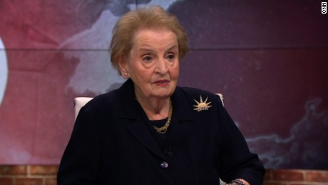 Albright calls for diplomacy towards N. Korea