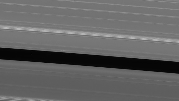 Two days before its death plunge into Saturn, Cassini took this image of Saturn