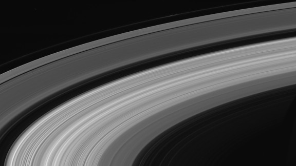 Cassini took this final image of Saturn