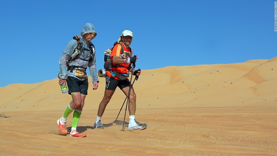 "Racing from the Arabian Sea to the Indian Ocean, the<a href=""http://www.thedesertchallenge.com/transomania/"" target=""_blank""> TransOmania </a>ultra marathon covers either 81, 124 or 177 miles. Tents and water are provided for the event, which takes up to six days. Participants can choose to race either in stages or non-stop, with the latter required to cover the furthest distance in under 100 hours."
