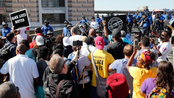 Protesters gather Friday outside the courthouse after ex-officer Jason Stockley's acquittal.
