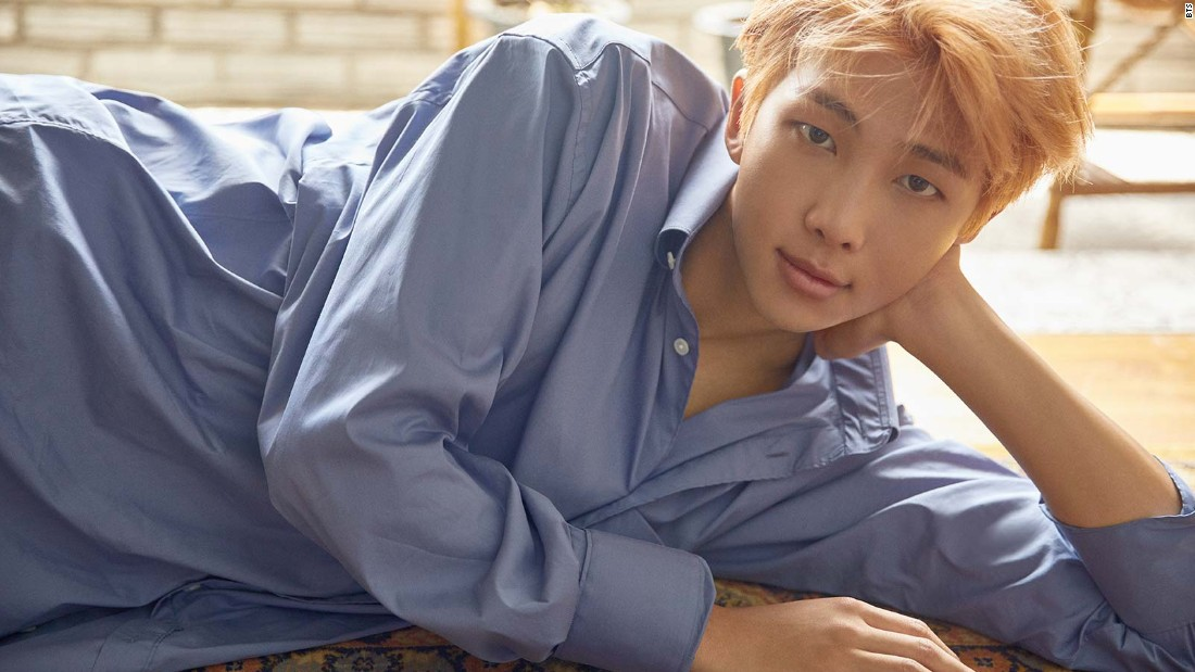 "Kim Namjoon, known as ""Rap Monster,"" is the leader of BTS."