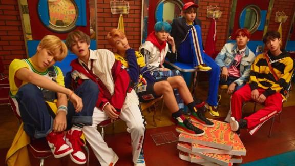 BTS is made of up of seven members: Kim Seokjin, Min Yoongi, Jung Hoseok, Kim Namjoon, Park Jimin, Kim Taehyung and Jeon Jungkook.