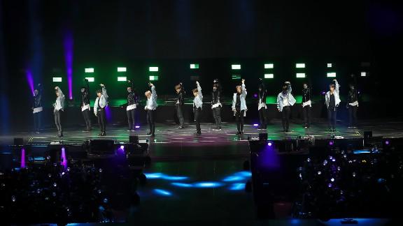 Last spring, BTS played U.S. cities Newark, Chicago and Anaheim.