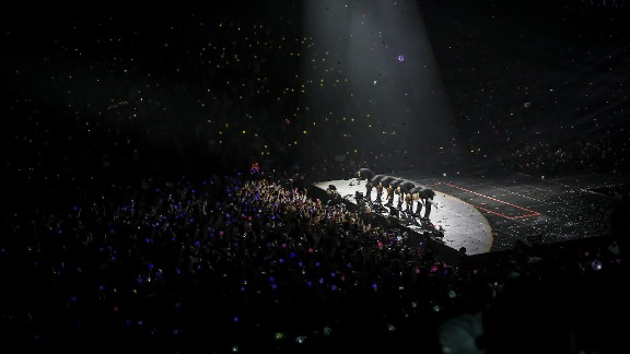 American concert dates sold out within hours, so BTS added two more shows in Newark and Anaheim.
