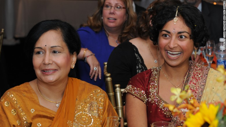 Kamni Vallabh, left, was planning her daughter Sonia's wedding less than a year before she came down with a mysterious, debilitating illness.