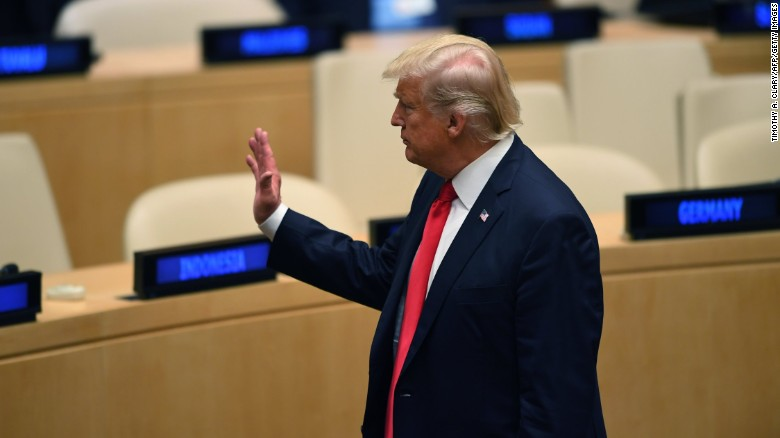 What will Trump say to the world at UN?