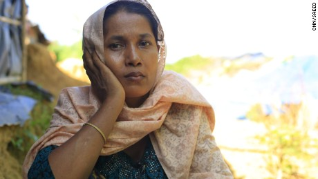 Asma wants the Rohingya to be able to move around freely.