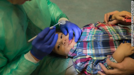 Dental checkups urged for babies -- but many dentists are wary