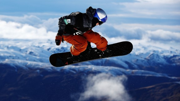 Toby Miller of USA competes during the Winter Games NZ FIS Men