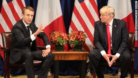 Climate remains a rift amid Trump-Macron friendship